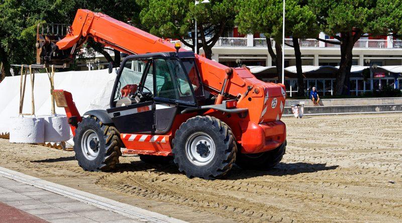 CACES R482 Catégorie F – Chariots tout terrain
