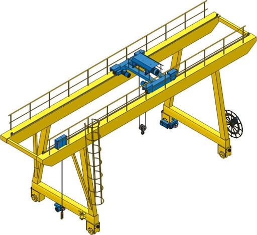 Ponts roulants et portiques avec contrôle de loge