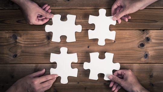 Formation du renforcement de la cohésion d'équipe