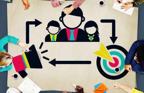 Réunion pour programmer des formations de management